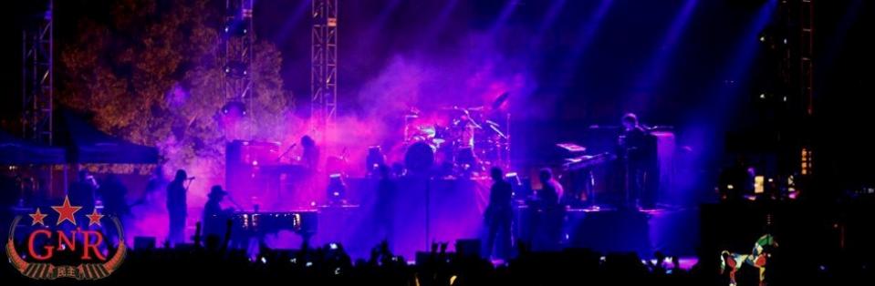 Guns n' roses live mumbai 2013